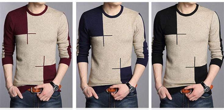 Aliexpress.com : Buy Top Quality 2016 New Arrival O Neck Wool Sweater Men Brand Clothing Knitted Cashmere Pullover Men Slim Fit Bottoming shirt 66203 from Reliable pullover polo suppliers on COODRONY Official Store