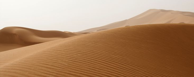 Erg Chebbi dune, the largest in Morocco. It's hot, it's calm and it's peaceful