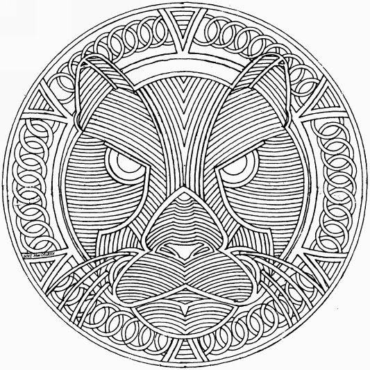 coloriage animal mandala difficile pour adulte a imprimer mandalas a colorier pinterest. Black Bedroom Furniture Sets. Home Design Ideas