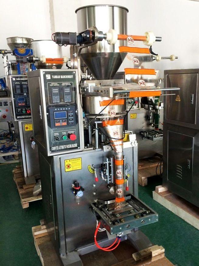 Esta Máquina se utiliza principalmente para envasar Productos Granulares, como por ejemplo: Azúcar, Sal, Café, Condimentos, Maní, Semillas de Girasol, Frutos Secos, Cereales, Té, Hierbas, Co...