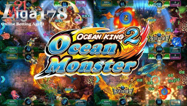 Game Ikan Tembak Di Android Deposit Murah Ocean Monsters Kings Game Fishing Game