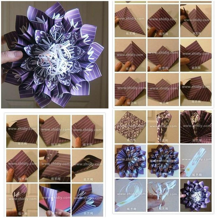 23 best papercrafting images on pinterest papercraft bible how to make paper blossom flowers diy tutorial instructions how to how to do solutioingenieria Gallery