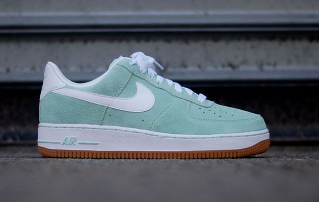 Nike Air Force1 Lush TealLush TealWhite  Dope Kicks  Pinterest  Nike  air force Air force and Pastels