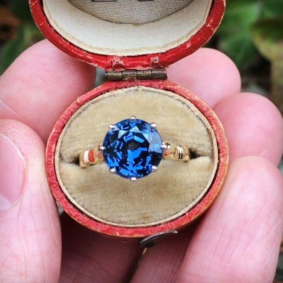 Blue & Blue Green Sapphire Engagement Rings from EraGem