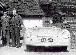 ferry et ferdinand Porsche