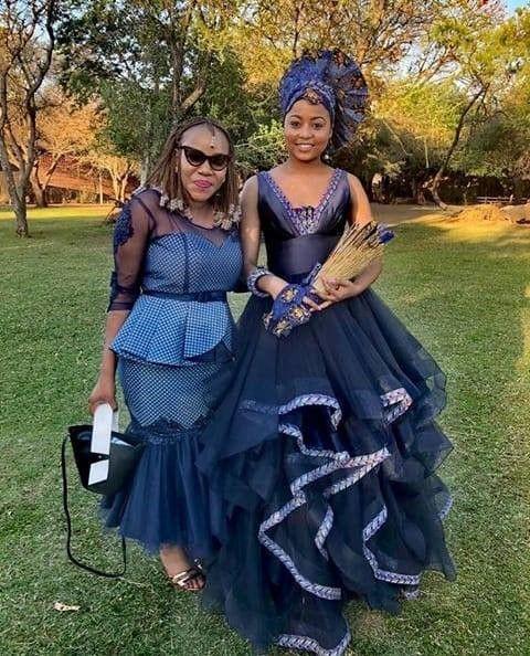 Sesotho Patterns Dresses Traditional