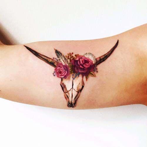 kadın pazu dövmeleri woman biceps tattoos