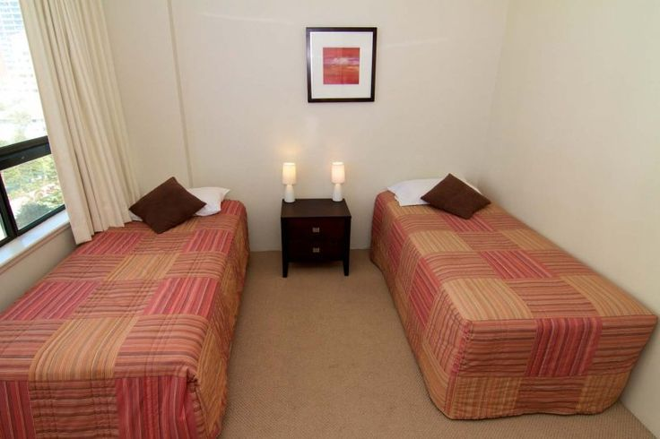 Carrington Court - 2nd Bedroom - Main Beach Gold Coast Accommodation