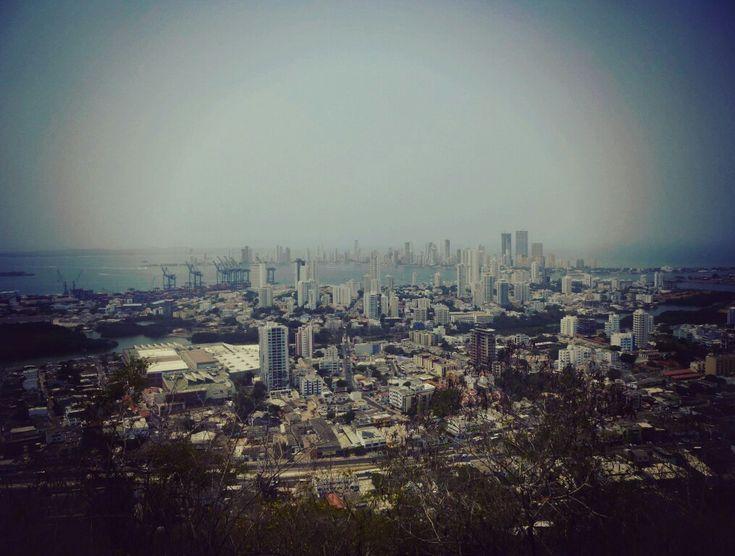 Ein Blick auf #Cartagena . Ich liebe diese #Stadt 😍 #Kolumbien