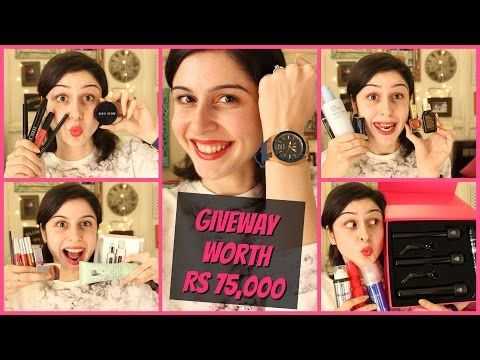#75000SHROFFERS!!! Giveaway Worth Rs 75,000!!! - YouTube
