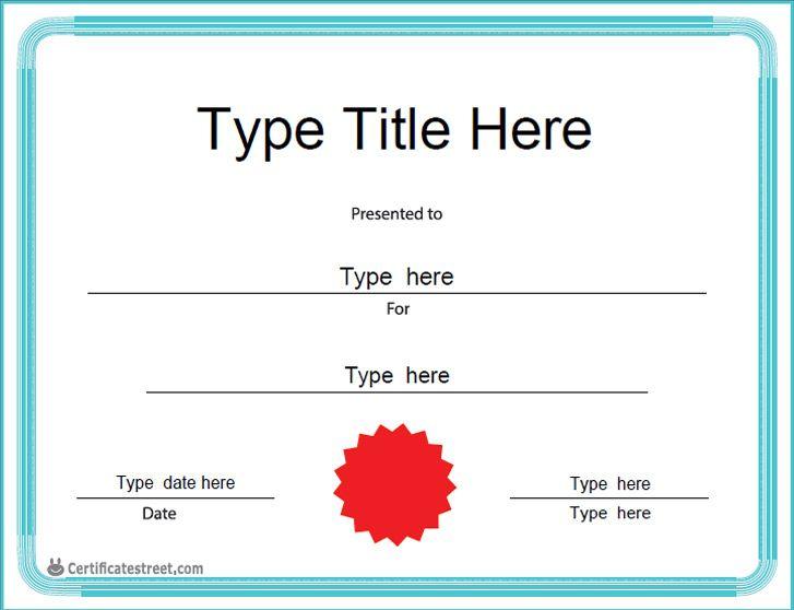 Best 25+ Blank certificate ideas on Pinterest Blank certificate - blank certificate template