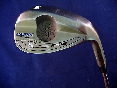 "SiMAC 56 Degree Sand Wedge Golf Club RH Steel Shaft Oil Can Finish Simon 36"" Sporting Goods:Golf:Golf Clubs & Equipment:Golf Clubs www.internetauctionservicesllc.com $29.99"