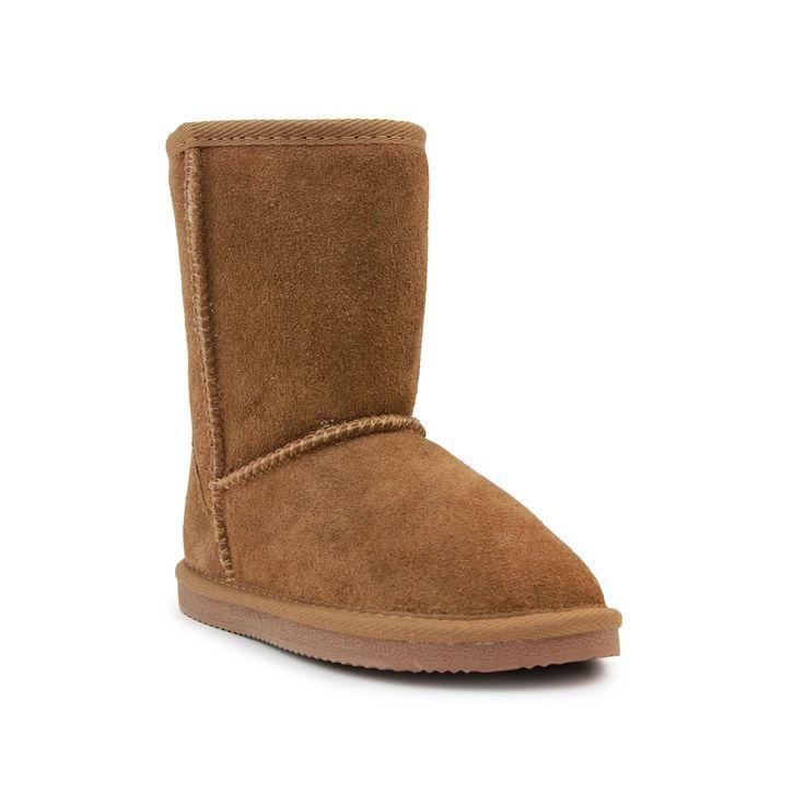 LAMO Classic Toddler Girls' Boots, Girl's, Size: 8 T, Beig/Green (Beig/Khaki)