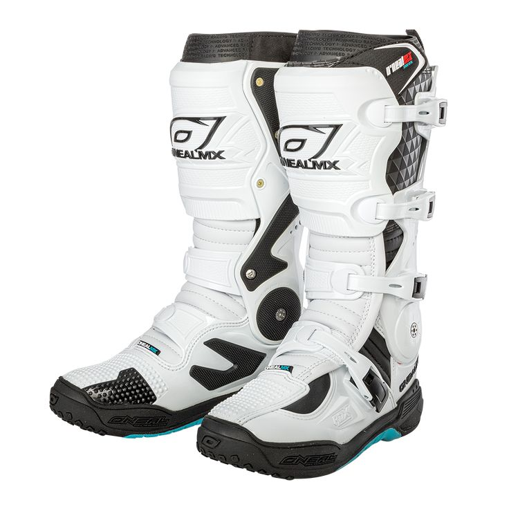 O'Neal RDX. Has 3 settings for calf sizes Bike gear
