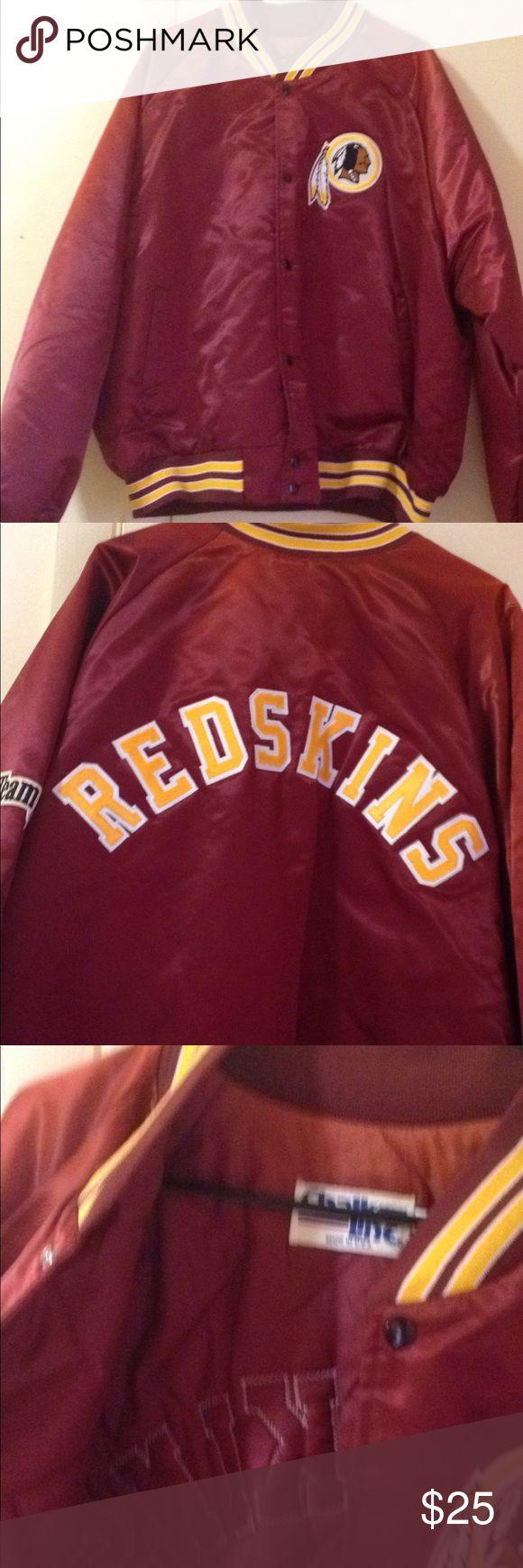 Redskins jacket 3XL Redskins jacket in good condition. Mens 3xl chalk line Jackets & Coats Bomber & Varsity