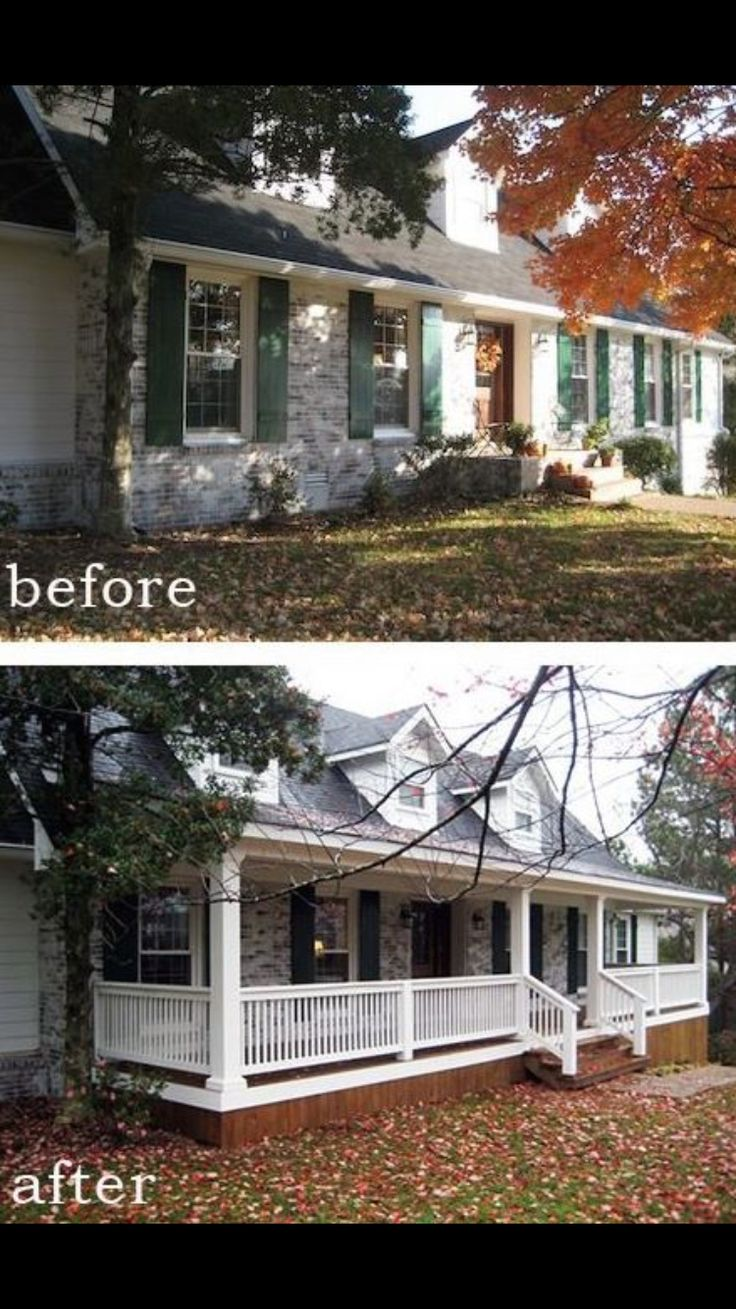 Before and After 7 Sensational Front Porch