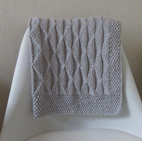 Tuto tricot: Baby Blanket Himalaya Plus
