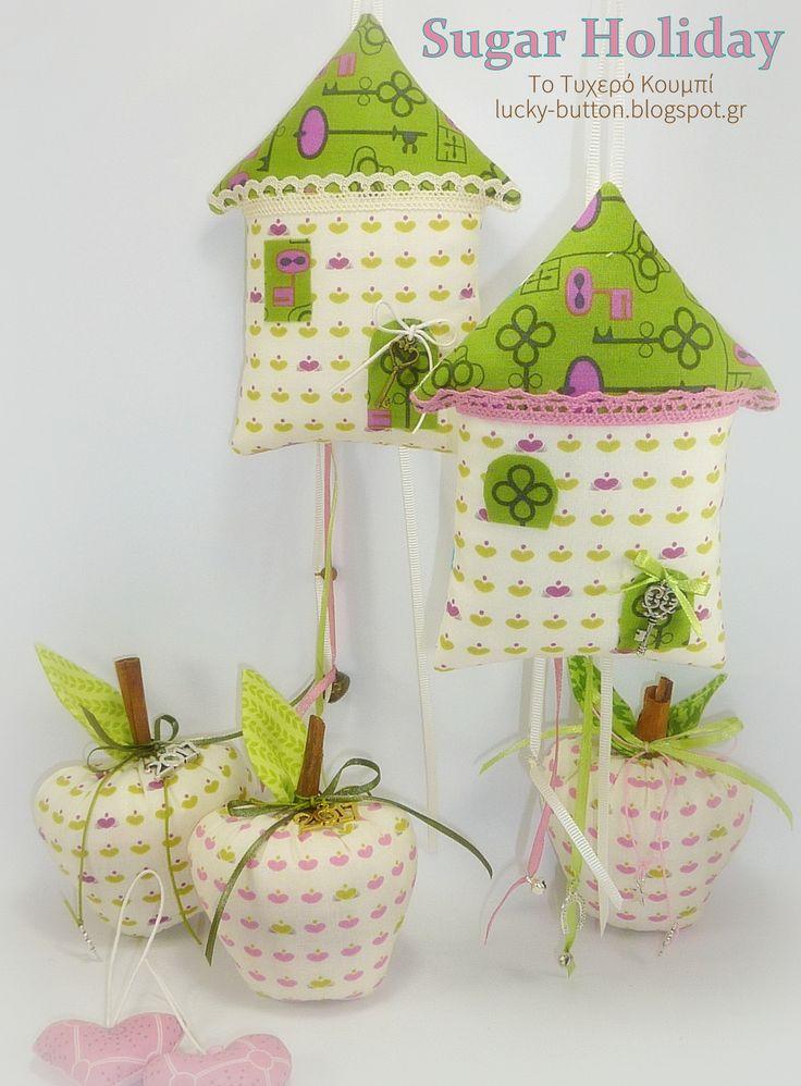 Διακοσμητικά σπιτάκια, Home sweet home, handmade