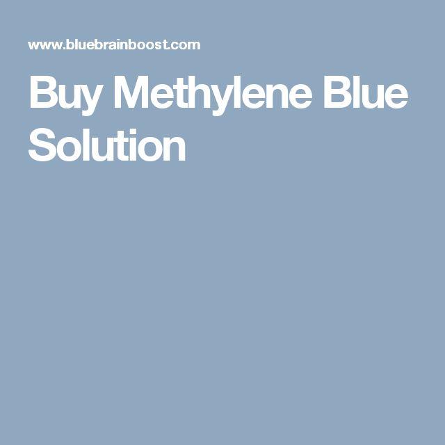 Buy Methylene Blue Solution