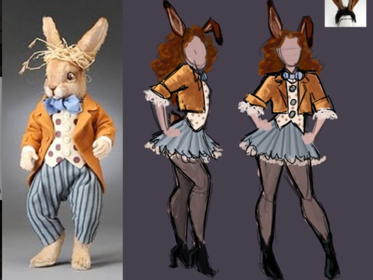 The March Hare costume design! For my Wonderland Tea Party birthday :] @Kelly Teske Goldsworthy