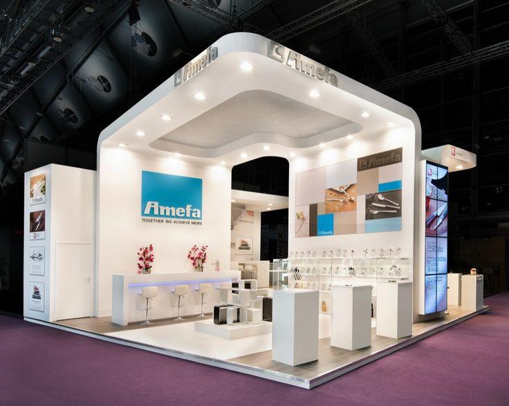 Aluminium Modular Exhibition Stands : Standbouw kopexpo amefa ambiente kopstand
