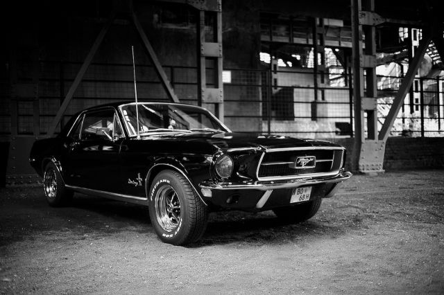 Old School Mustang Muscle Cars
