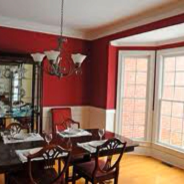 Dining Room Red Paint Ideas 24 best ideas for the house images on pinterest | red dining rooms