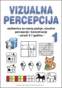 Listići i vježbe za razvoj grafomotorike, vizualne percepcije i pažnje