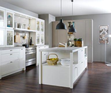 12 best Umbau images on Pinterest Kitchens, Contemporary unit - küche modern weiss