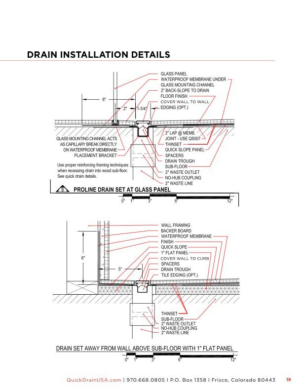 About Quickdrain Shower Fittings Usa Info Floor Finishes