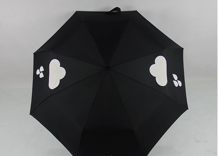2016 Fashion Cloud Changes Color When Rains Special Brand Umbrella High Quality Sunny&Rainy 3 folding Sun protection bumbersoll-in Umbrellas from Home & Garden on Aliexpress.com | Alibaba Group