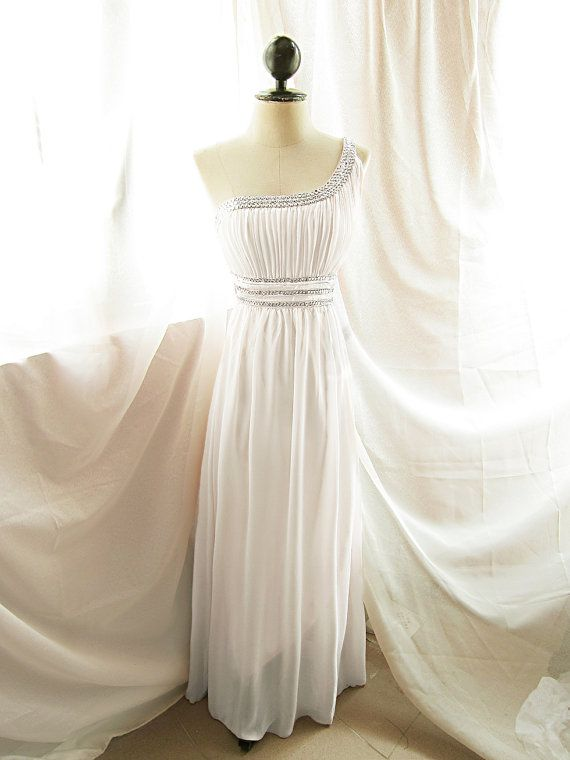 Greek Goddess dress!   Long Dress by RiverOfRomansk, $188.50
