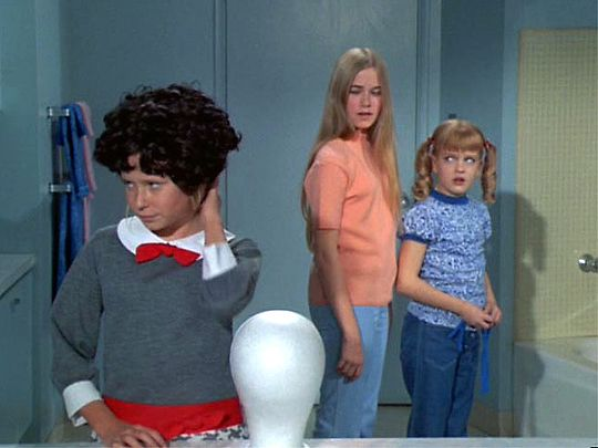 "The Brady Bunch - meet the new Jan Brady - the ""un-Marcia"" of the Bunch - LOL"