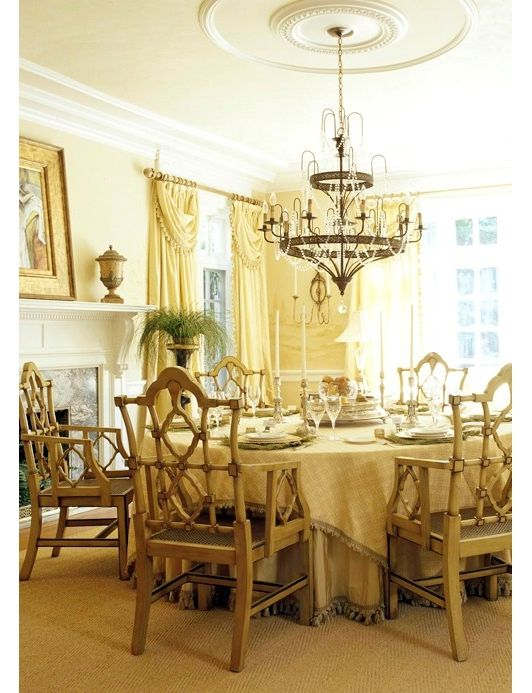 17 best images about dining room ideas on pinterest for Yellow dining room ideas