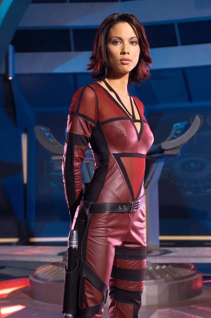 Lexa doig women of scifi calendar photoshoot 7