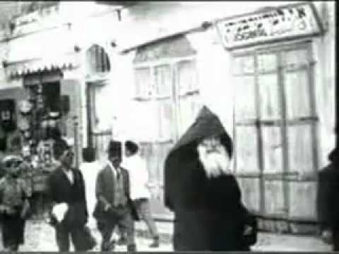 Amazing Footage : Historic Jerusalem 1896 -Christians, Muslims and Jews in peaceful coexistence in Ottoman Palestine.