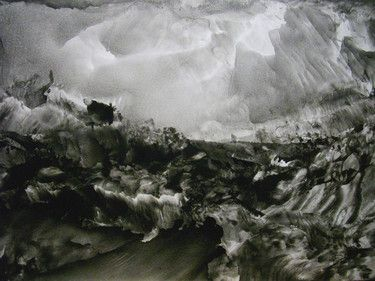 "Saatchi Online Artist Masri Hayssam; Painting, ""Landscape - Storm 8"" #art"