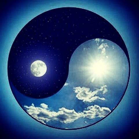 Ying - Yang  / Gece - Gündüz / Aydınlık - Karanlık