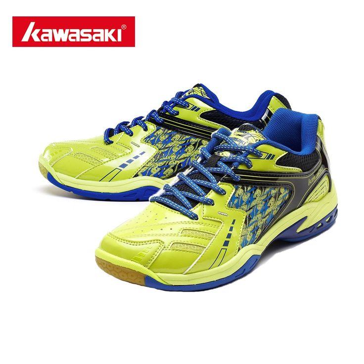 51.29$  Watch here - http://ali6if.shopchina.info/go.php?t=32801012550 - Kawasaki K-336 Badminton Shoes EVA TPU Anti-torsion Breathable Badminton Sneakers Mens Women's Flexible Sporting Shoes+Free Gift  #aliexpress
