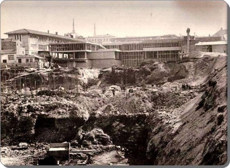 Unkapanı , İMÇ blokları inşaatı - 1960 lar