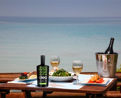 Superior extra virgin #oliveoil OLEA JUICE is perfect for all your dishes! Try it today by visiting our website: www.oleajuice.com