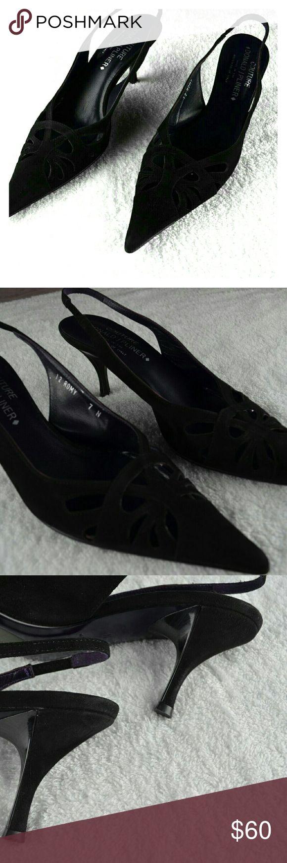 Donald J Pliner Couture Womens Slingbacks Couture Romy Heels Sz 12  7 N Donald J. Pliner Shoes Heels