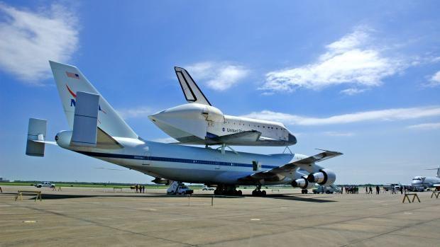 Quieren crear un puerto espacial en el aeropuerto de Ellington