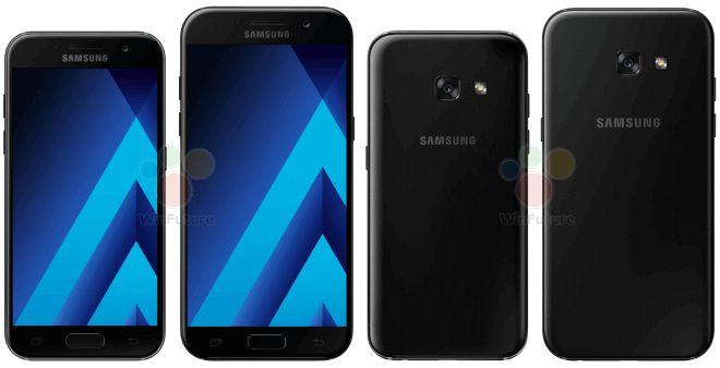 Samsung Galaxy A3 2017 und Galaxy A5 2017: Bilder Spezifikationen und Preise