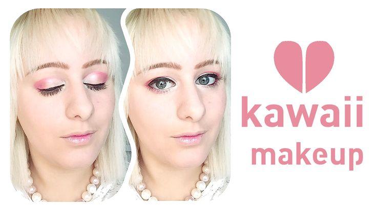 kawaii makeup look - Concrete Minerals - Tutorial