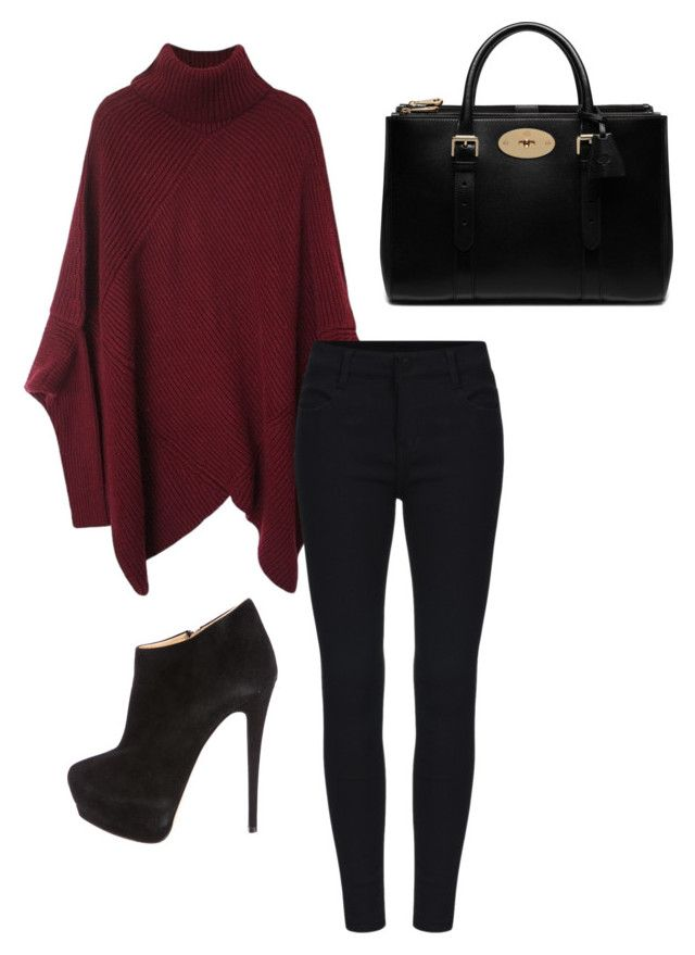 """""""Untitled #10"""" by toniannfratianni on Polyvore featuring Giuseppe Zanotti, Mulberry, women's clothing, women's fashion, women, female, woman, misses and juniors"""