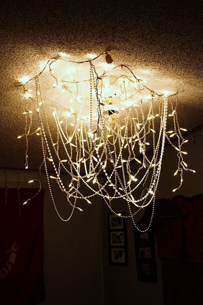 Hula Hoop Chandelier | Feelin' Roomy. | Pinterest | Party fun, Christmas  lights and Decoration - Hula Hoop Chandelier Feelin' Roomy. Pinterest Party Fun