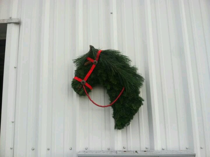 1000 Images About Horse Head Wreath On Pinterest
