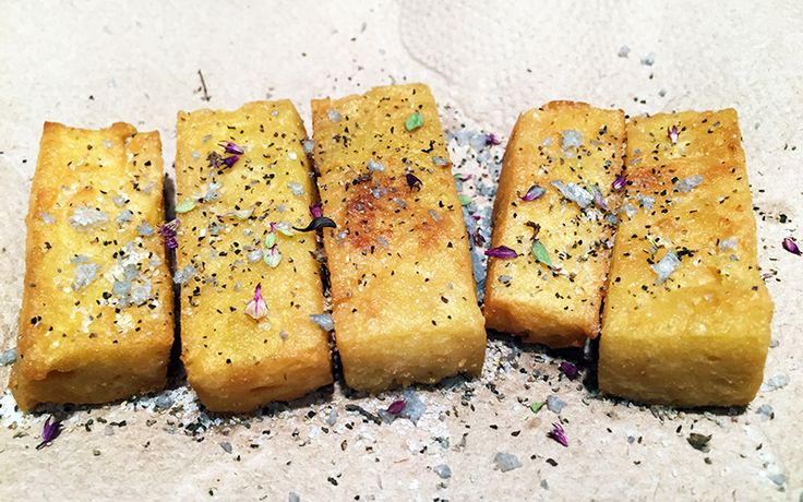 Quick and Easy Panisse From Scratch | Maria Rodale