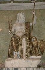 Globus cruciger - Jupiter holding the sceptre and orb
